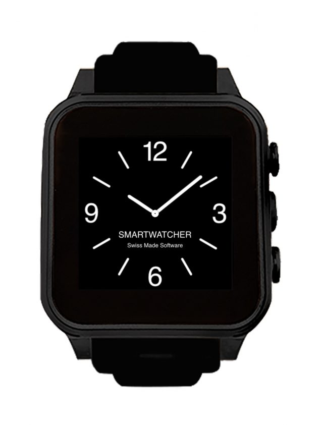 SmartWatcher CHRONO blackblack OK